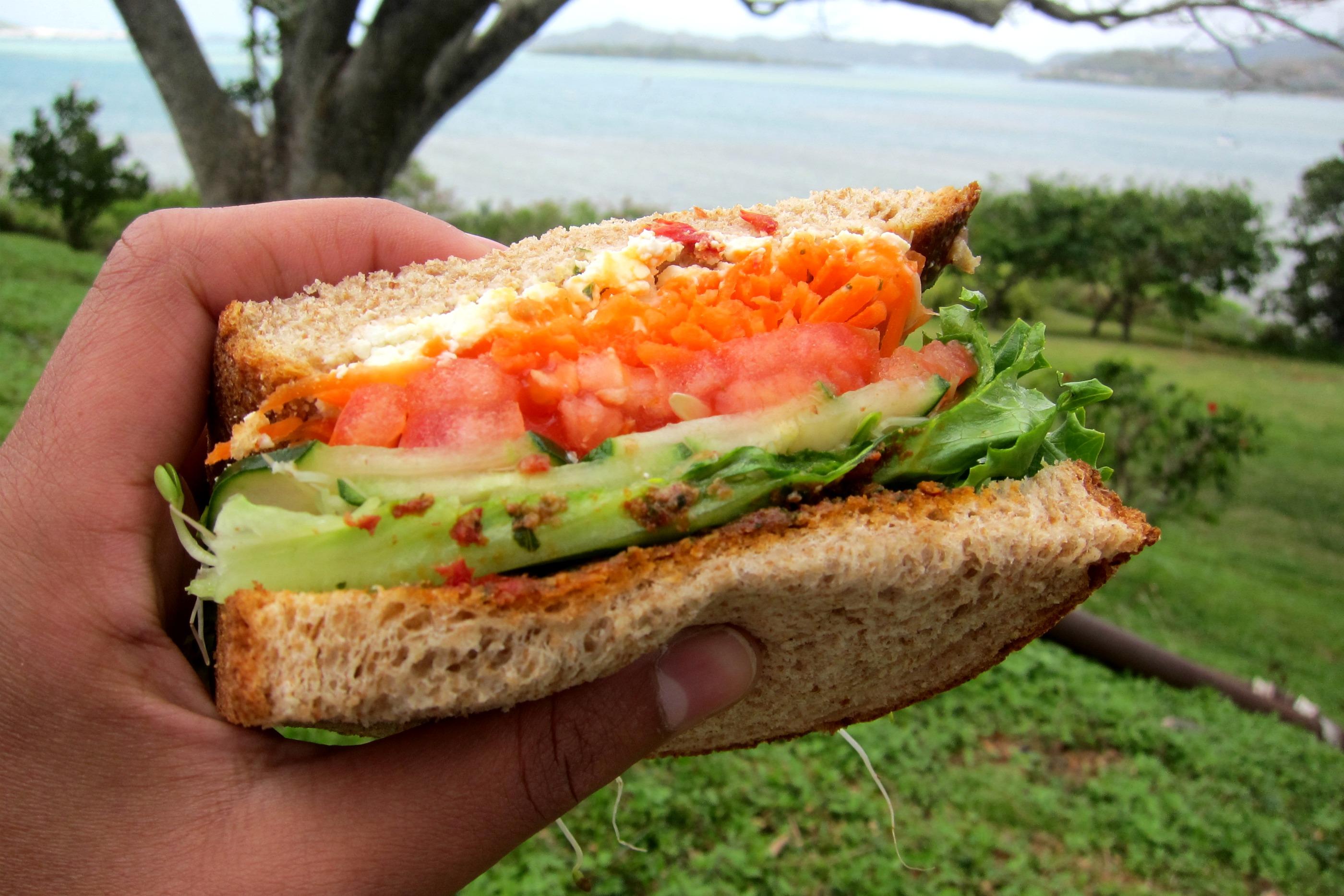 Kailua market sandwich
